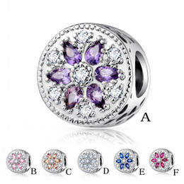 Wholesale Jewelry Wholesale Loose Diamonds - DIY jewelry accessories boutique micro diamond beaded series color zircon macroporous loose beads free shipping