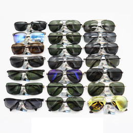 Wholesale variety frames - High-grade Handsome Men's Outdoor Sports Glasses Variety Of Styles Full Frame Lightweight Metal Fishing Glasses Without Packaging Suitable F