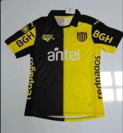 Wholesale Uruguay Soccer - 2017-18 Camiseta Uruguay Club Atletico Penarol Soccer Jersey L.SUAREZ D.GODIN E.CAVANI SILVA GONZALEZ COATES EDISON FORLAN GIMENEZ Football