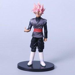 Wholesale Finish Hair - Anime Model Dragon Ball Z Action Figure dxf Hei Wukong Pink Hair Color Boxed pvc Decoration Children Toys