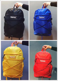 Wholesale Duffle Gym - 2017 supre backpack school bag fashion outdoor duffle bags 15SS 38TH men women backpacks travel outdoor bags