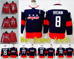 Wholesale Men Flashing Women - 2018 Stadium Series Washington Capitals Youth Women Men 8 Alex Ovechkin Jersey 70 Hockey 77 TJ Oshie Ovechkin 19 Nicklas Backstrom Kids