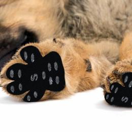 Wholesale door stick - Nakefit Summer Dog Foot Paste Heat Insulation Scratch Resistance Door Mat Anti-Skidding Dog Stick Pet Beach Shoes 4 5fs ff