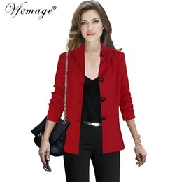 Women's Clothing Shop For Cheap Gcarol 2019 Summer Spring Floral Leaf Red Blazer Open Stitch 2 Pockets Tropic Floral Prairie Style Ol Suit Chic Casual Outfits
