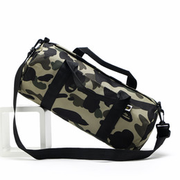 Wholesale Cycling Messenger Bags - Large Capacity Travel Outdoor Ape Cycling Shoulder Bag Backpacks Camouflage Canvas Crossbody Bag Unisex Tactical Casual Messenger Bag