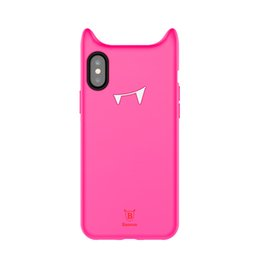 Wholesale Baby Iphone Cases - Baseus Devil Baby Case For iPhoneX Fitted Cases with Soft and Gentle Protection Anti-Scratch Anti-fingerprint Retail Box