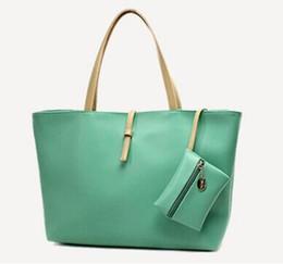 quality belt bag UK - Quality PU Leather Fashion Handbags European Style Commuter Retro Belt Buckle Wild Shoulder Bag Large Capacity Portable Bag