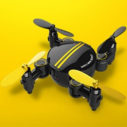 Wholesale helicopter remote control hd camera - 2.4G Mini RC Drone 4CH 6-Axis Gyro 0.3M HD Camera LED UFO Wifi RC Quadcopter Drone RTF Remote Radio Control Helicopter