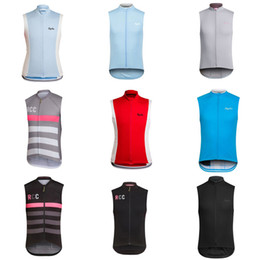 Wholesale Pro Teams - 2018 RAPHA team Cycling Sleeveless jersey vest summer Style Mens Pro team cycling jersey sleeveless c2124