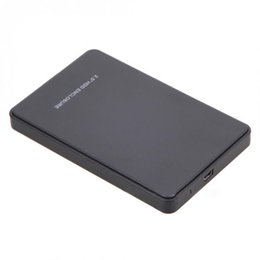 Caso sdd hdd on-line-New Universal 2.5 Polegada SATA Externo Disco Rígido SSD Caso 2 TB USB 2.0 HDD Recinto QJY99