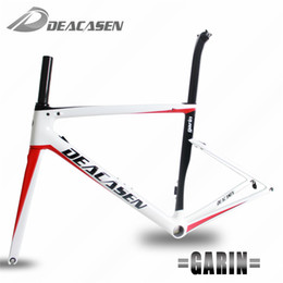 Wholesale Carbone Bike Road - DEACASEN Carbon Frames Toray T1000 Cadre Carbone Route 2018 Carbon Road Frame For Racing type Garin carbon fiber road frame
