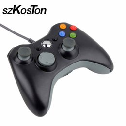 Wholesale Official Windows - HOT USB Wired Joypad Gamepad Controller For Xbox 360 Joystick Controller For Official Microsoft PC Windows 7   8   10