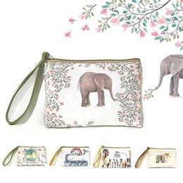 Wholesale Gift Wrapping Paper Cartoon - New Cartoon Women's Purse Ladies Day Clutches Coin Purses Vintage Women Storage Bags Purse for Coins Women Wallet Pouch LZ1866