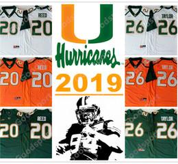 2019 furacões de Miami Colégio NCAA 15 Brad Kaaya 20 Ed Reed 26 Sean Taylor 52 Ray Lewis Jerseys Camisola De Futebol Jersey esporte 2018 velocidade cheap ray lewis jersey de Fornecedores de jersey ray lewis