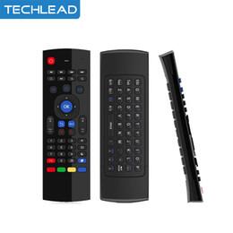 2019 беспроводная клавиатура stb MX3 Fly Air Mouse гироскоп беспроводная игровая клавиатура портативный пульт дистанционного управления 2,4 ГГц для Smart TV Box Mini PC