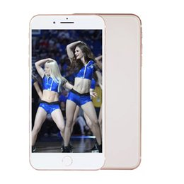 Wholesale glass mp3 - Goophone Red i8 Plus i8+ 1GB RAM 4GB ROM Glass Back Show 4G lte Show 256GB WCDMA 3G Android Unlocked Mobile Cell Phone