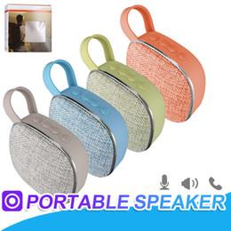 diseño bluetooth mp3 Rebajas X25 Mini Altavoces Bluetooth portátiles Diseño de moda Altavoz Bluetooth inalámbrico Manos libres Recibir llamada Reproductor de MP3 de música Soporte Tarjeta TF