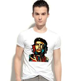 Wholesale Leaders Clothing - Ernesto Guevara t shirt Ei che fans short sleeve gown Freedom leader tees Unisex clothing Quality modal Tshirt