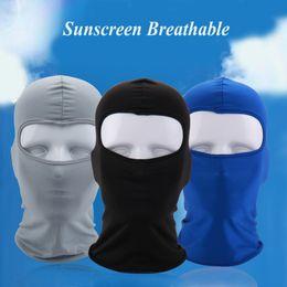Wholesale uv headwear - Breathable Bicycle Cap Anti-UV Sunshade Bike Face Mask Headwear Cycling Bandana Face Mask Fishing Sports Hat Scarf