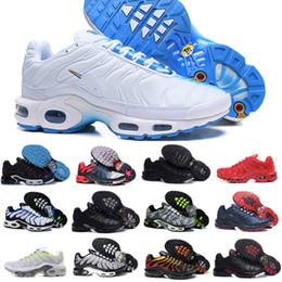 reputable site 56b76 dbd4f nike air max tn shoes vapormax airmax tn plus chaussures 2018 nouveau  design hommes chaussures pour pas cher tn requin Respirant Mesh noir blanc  rouge ...