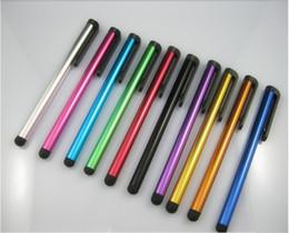 Argentina Stock capacitivo Stylus Pen Touch Screen Pen Aluminio para ipad Teléfono / iPhone Samsung / Tablet PC Juegos de novedad Bolígrafos Envío libre de DHL cheap touch screen pc games Suministro