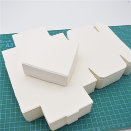 Wholesale Packaging Handmade Soap - 100pcs White Paper Candy Box,small Cardboard Paper Packaging Box,Craft Gift Handmade Soap Packaging Box