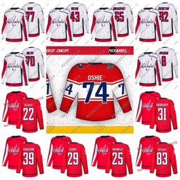 3e265c8fd1c 2018 Stadium Series Washington Capitals Hockey Jay Beagle Stephenson  Chiasson Smith-Pelly Bowey Carlson J Chorney Djoos Hockey Jerseys