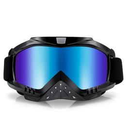 Wholesale Enduro Dirt Bike - Motorcycle Riding Goggles Ski Snowboard Skate Glasses Motocross Off-Road Dirt Bike Downhill Enduro Dustproof Eyewear Motorcycle Goggles