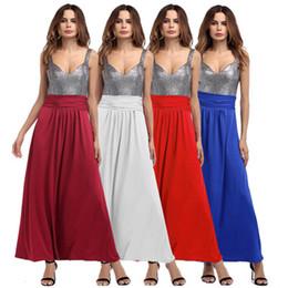 Женские модели длинное платье онлайн-Трансграничные женские 2018 лето Европа и Соединенные Штаты Америки новая личность печати платье длинная юбка женские модели