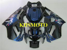 kawasaki ninja zx12r Rabatt Spritzguss Verkleidungssatz für KAWASAKI Ninja ZX12R 00 01 ZX 12R 2000 2001 ABS Blau Schwarz Verkleidungssatz + 7 Geschenke KX03