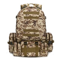 free molle gear Promo Codes - MOLLE Tactical Backpacks Gear Waterproof 1000D Assault Outdoor Travel Hiking Sport amy Rucksacks Hunting Multi-function Bag free shopping.