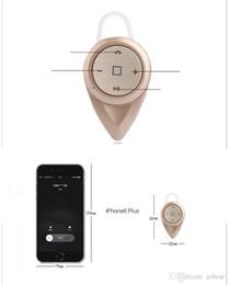 Wholesale Double Hung - Wholesale Mini A9 Bluebird Wireless Bluetooth Headset 4.0 Hanging Ear Miniature Movement Stereo Binaural CSR double noise reduction