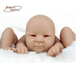 Wholesale Reborn Vinyl Kit - New Reborn Baby Doll Kits Suit for 22 Inch Realistic BeBe Reborn 55CM Handmade Doll Accessories For Children Present