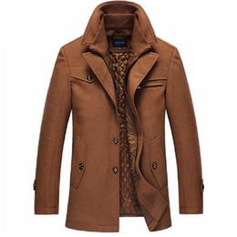 бархатная мандарина с воротником Скидка Новый шерстяное пальто мужчины повседневная Slim Fit куртки верхняя одежда 2016 зима теплая куртка мужчины пальто горох пальто плюс размер M-XXXXL