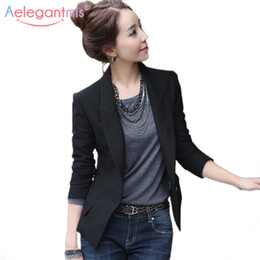 f8a61c70fe70 plus size lace hooded jacket 2019 - Aelegantmis 2018 Autumn Winter Slim Blazers  Women Single Button