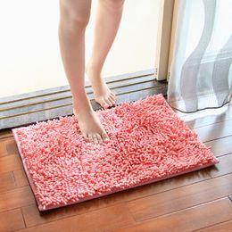 Wholesale Persian Rugs Carpets - 40*60cm Bath Mat Bathroom Carpet Bathroom Mat For Toilet Bathroom Rug Toilet Mat Tub Rug Anti -Slipping Absorbent Soft Chenille