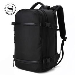 laptops para estudantes universitários Desconto Homens Sólidos Laptop Travel Bag Grande Capacidade de Carregamento USB Capa de Chuva Mochila Para Meninos Meninas Estudante Crianças Faculdade Saco de Escola