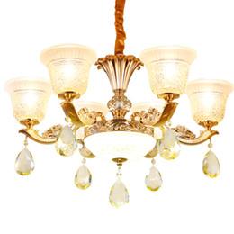 Moderna lámpara de cristal redonda LED Lámpara de techo Home Hotel Designer K9 Crystal Living Room Luxury Chandelier Light para comedor desde fabricantes
