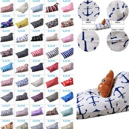 Wholesale Wholesale Bean Bag Beds - Diamond Shape Storage Bean Bag 79 Styles Kids Stuffed Animal Plush Toy Storage Bags Chair Sofa Pouch Toys Backpack T1I349