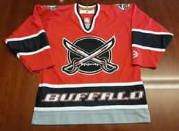 cb785d63c Cheap Buffalo Sabres Vintage Koho Cheap Hockey Third Jersey Swords Red Mens  Retro Jerseys
