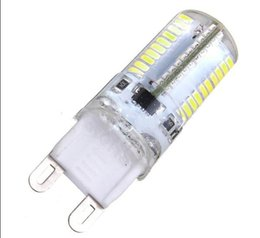 Wholesale White Lamps Sale - Hot Sale G9 3W 80 LED 3014 SMD Crystal Silicone Corn Light Lamp Bulb Pure White Warm White 110 220V LLFA