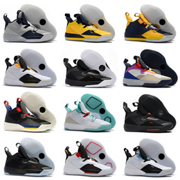 meilleures chaussures de basket-ball de mode Promotion Nouveau 33 Tech Pack Chaussures de basketball 33S La meilleure qualité Fashion Fashion Future of Vol Guo Ailun Sports Shoes XXXIII Hommes Sneakers Taille 40-46