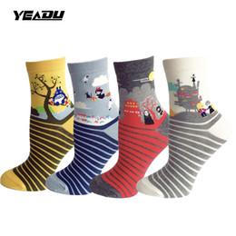 chaussettes à papillon en gros Promotion Cartoon Mon voisin Totoro fouguait des chaussettes de femmes drôles nouveauté Harajuku Kawaii chaussettes pour les femmes (4 paires / lot)