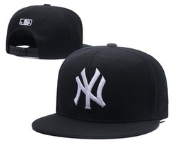 cotton new york Promo Codes - 2018 newest new york Embroidery Letter Sun Hats Adjustable Snapback Hip Hop Dance Hat Summer Outdoor Men Women White Black Navy Blue Visor