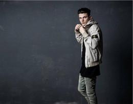 beckham hose Rabatt Angst vor Gott Jeans Männer NEBEL Justin Bieber Kanye West Hip Hop zerstörten Skinny Loch Hose Vintage Zerrissen Denim Angst Gottes Jeans Beckham