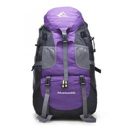 sac de sac à dos de camping de montagne Promotion Sac de randonnée en plein air gratuit Knight 50L, sac à dos de tourisme touristique en montagne imperméable à l'eau, sacs de sport d'escalade pour camping