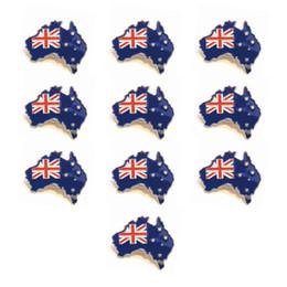 Argentina insignia al por mayor de la bandera del perno de la solapa de la bandera de Australia del nuevo estilo para el perno de la bandera del festival Suministro