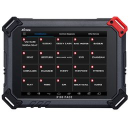 Wholesale auto mileage correction tools - Xtool X100 PAD2 Pro Auto Key Programmer With KC100 For VW 4th 5th IMMO Oil Reset EPB Odometer Adjustment Diagnostic Tool Multidiag-Languages
