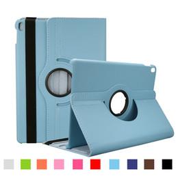 Ipad мини-личи кожаный чехол онлайн-Для Ipad Mini 1 2 3 Ipad Air 2 3 4 Премиум Личи ПУ кожаные чехлы 360 Вращающиеся кожаные чехлы с сумкой Opp