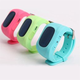 Wholesale Pulse Ring - Hot 2018 Q50 GPS watch Smart Bluetooth Watch Silicone Bracelet Strap Band Children's smart phone watch silicone bracelet Heart rate ring